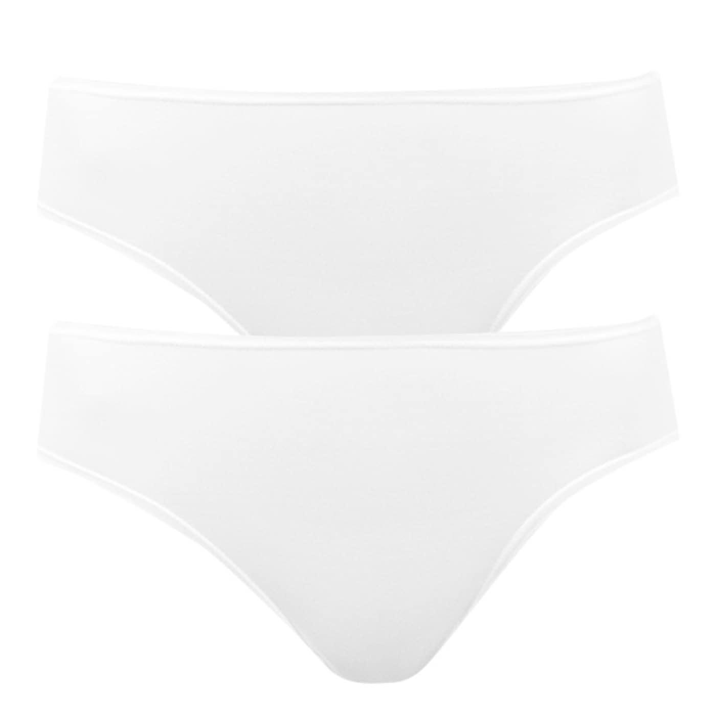 2PACK women's panties Bellinda white  dámské Neurčeno M