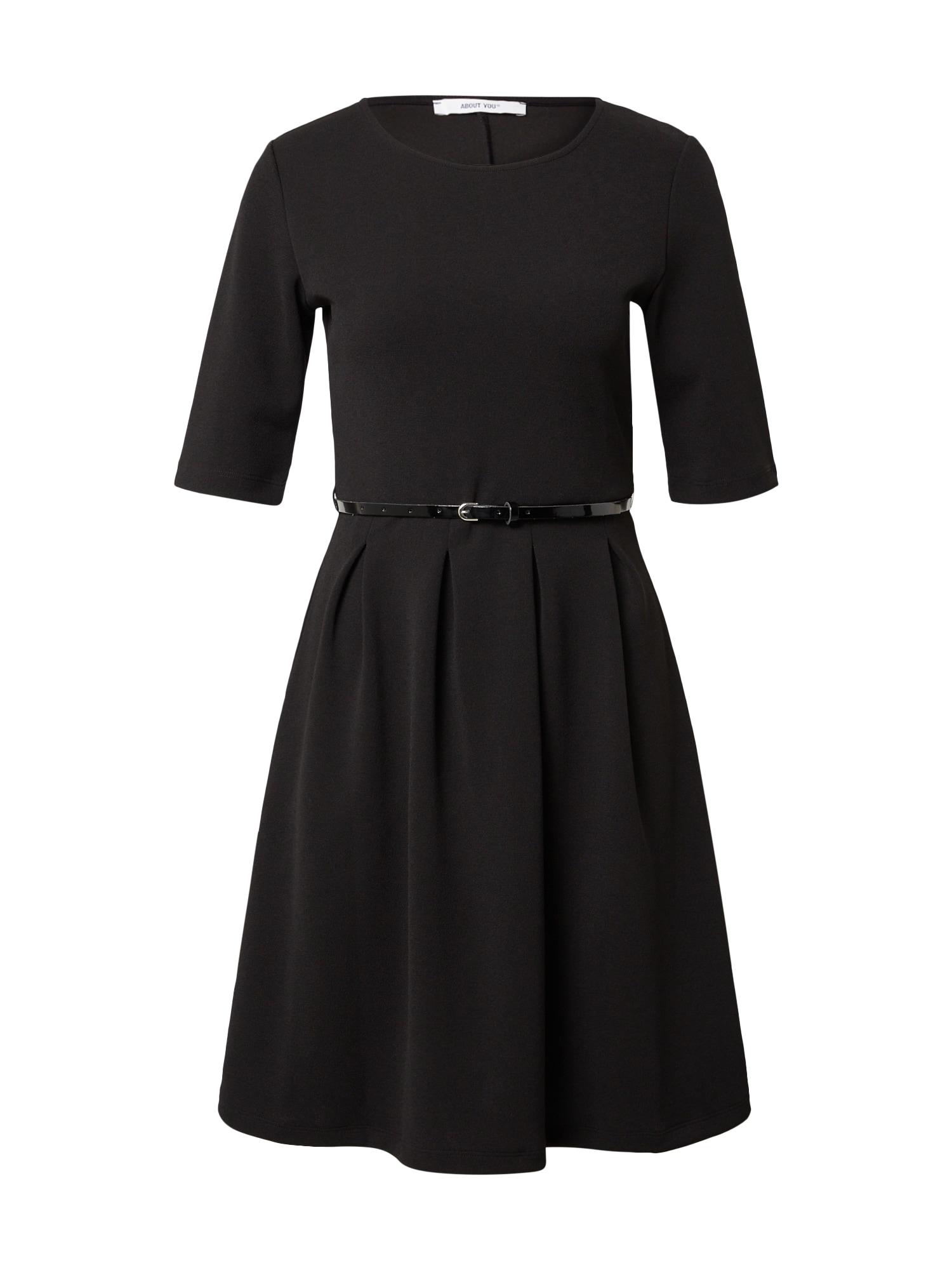 ABOUT YOU Šaty Regina  čierna dámské 44
