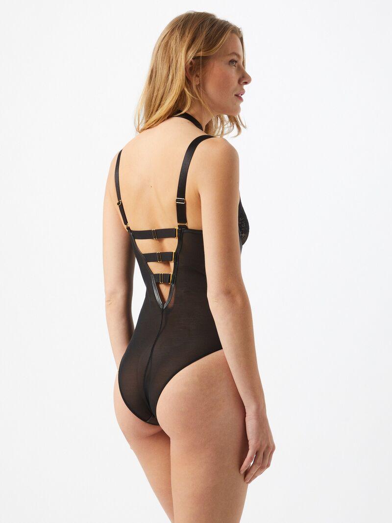 ABOUT YOU x hunkemöller Body Arsenia  čierna dámské XL