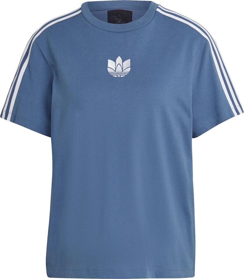 ADIDAS ORIGINALS Tričko  dymovo modrá / biela dámské XS-S