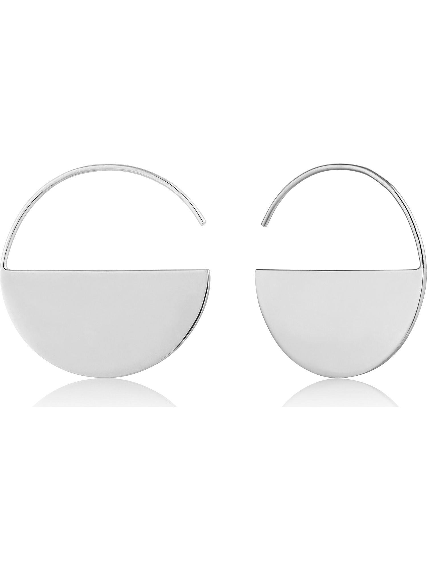 ANIA HAIE Náušnice Geometry Hoop Earring  zlatá dámské One Size