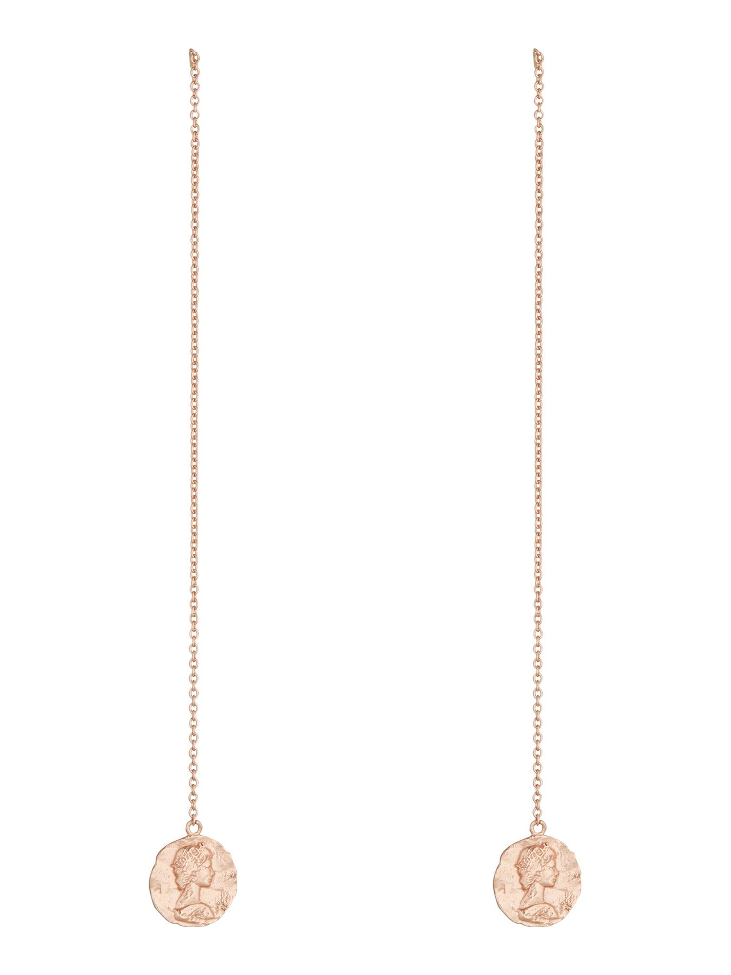 ANIA HAIE Náušnice Roman Empress Threader  zlatá dámské One Size