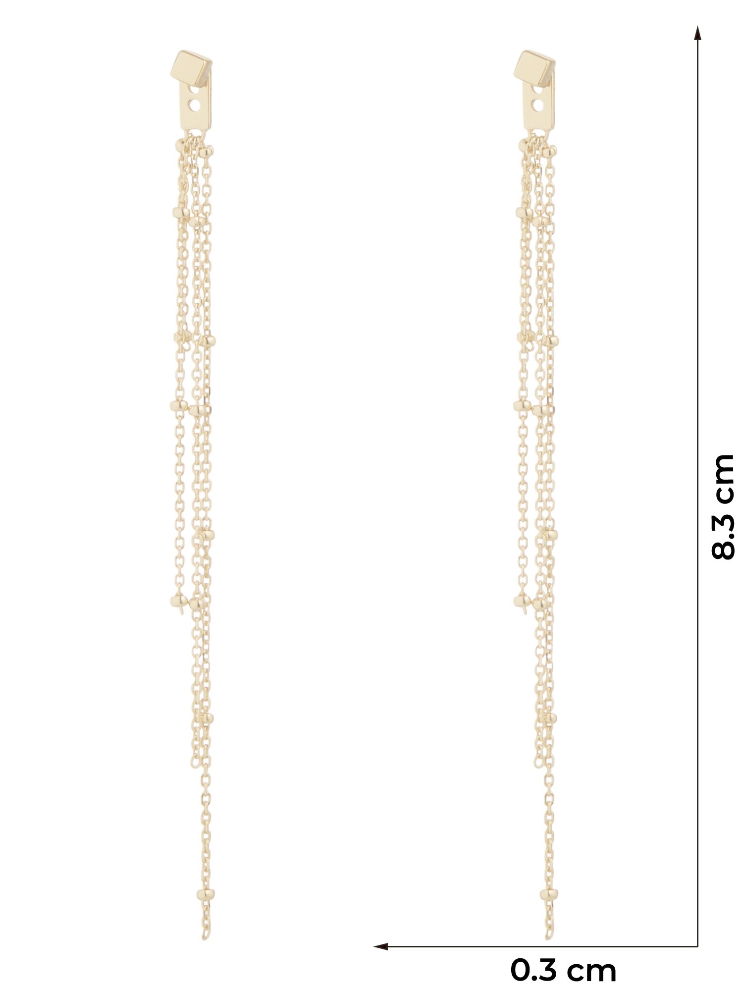 ANIA HAIE Náušnice  zlatá dámské One Size