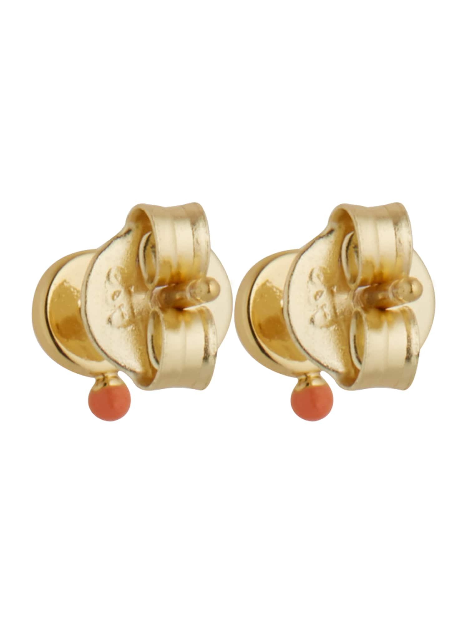 ANIA HAIE Náušnice  zlatá / oranžová dámské One Size