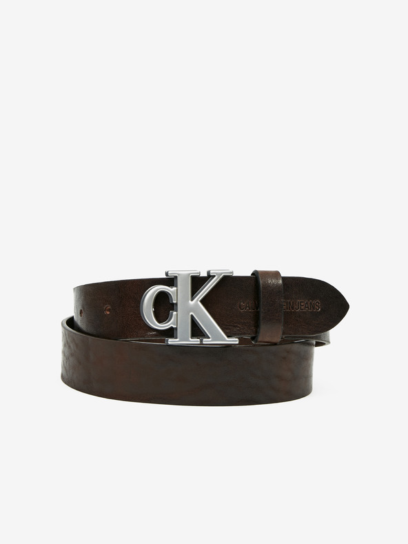 Calvin Klein Opasek Hnedá pánské 95 cm
