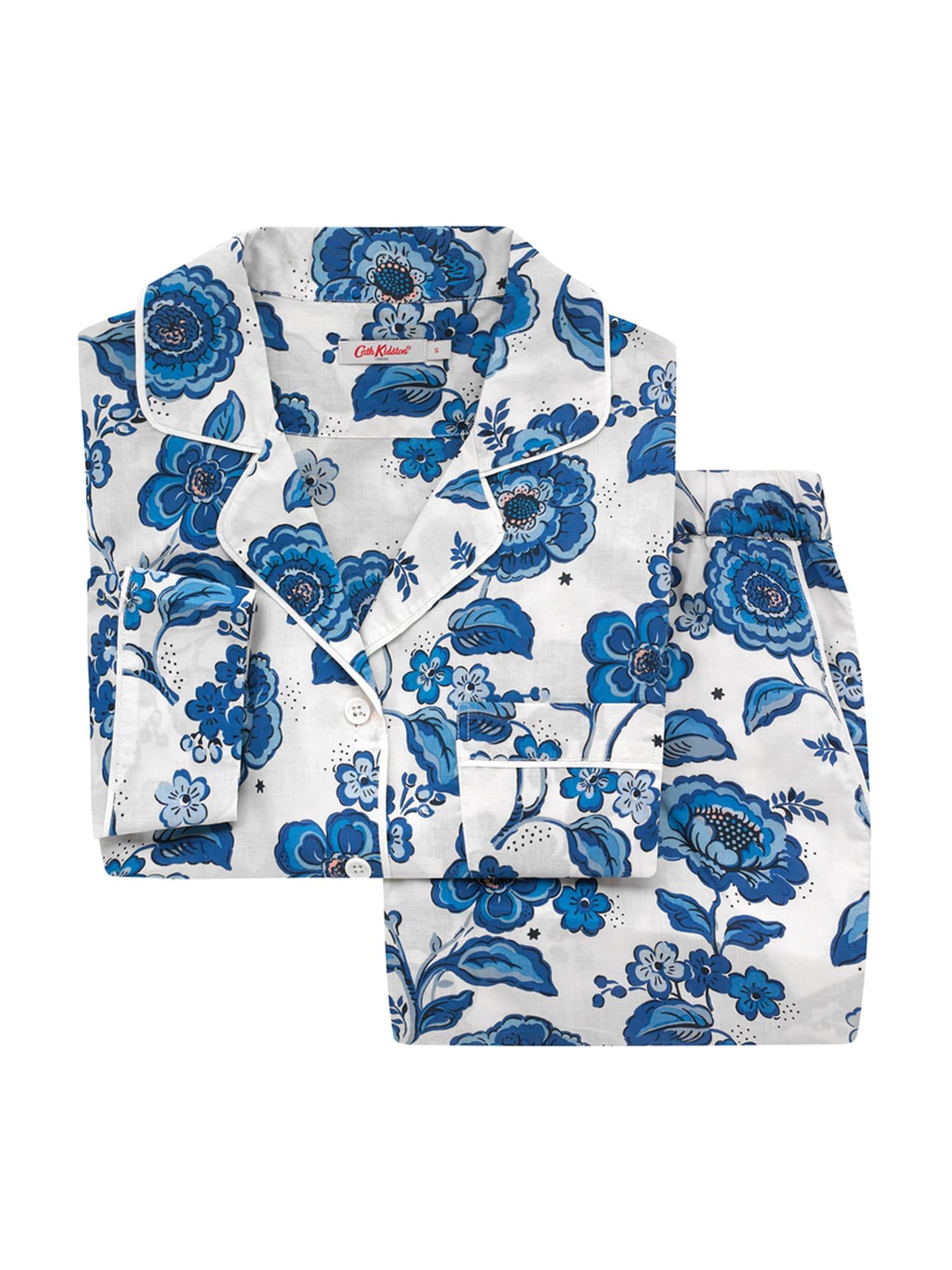 Cath Kidston Pyžamo  krémová / modrá / sivá / biela / ružová dámské S