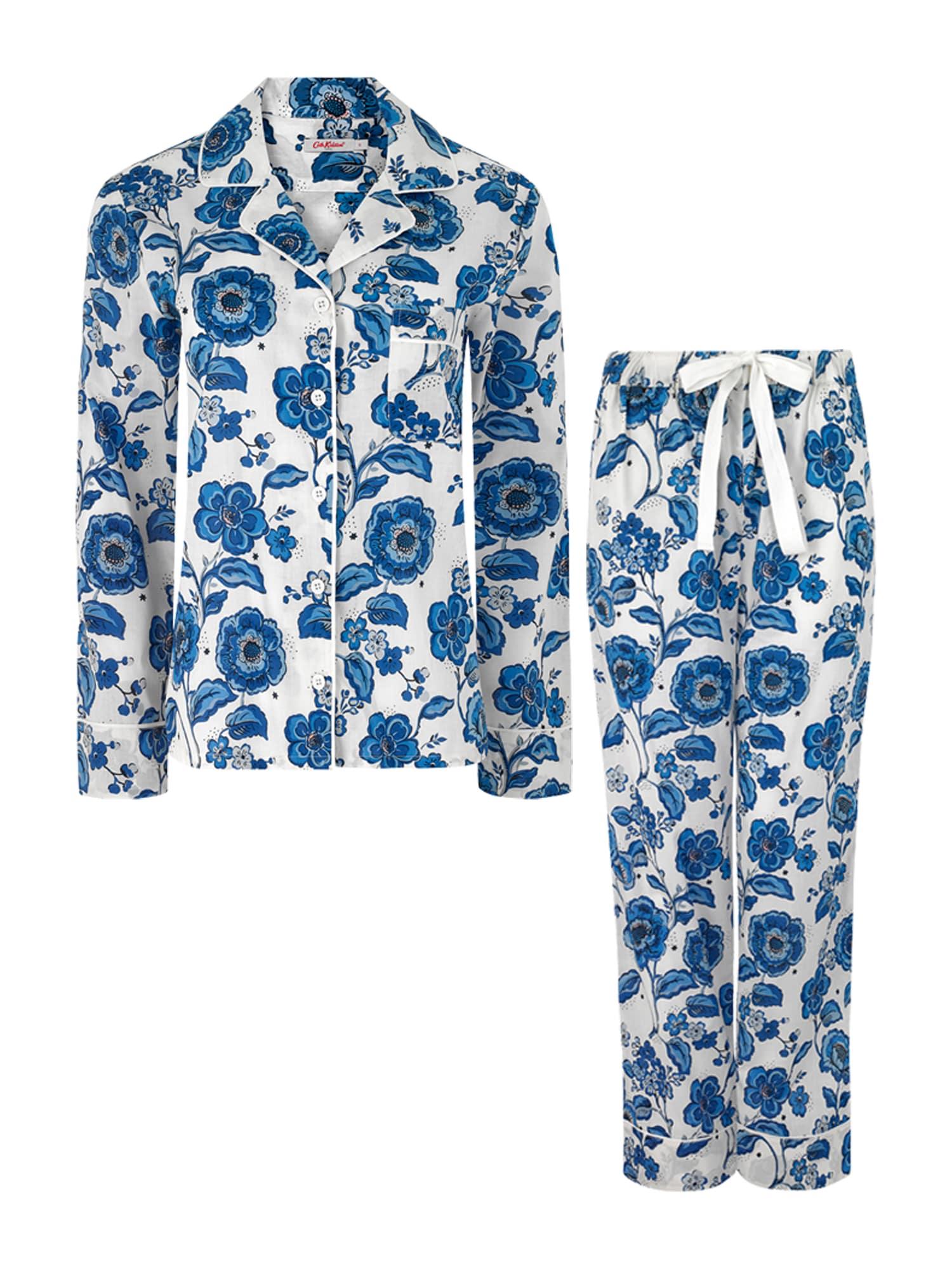 Cath Kidston Pyžamo  krémová / modrá / sivá / biela / ružová dámské XL