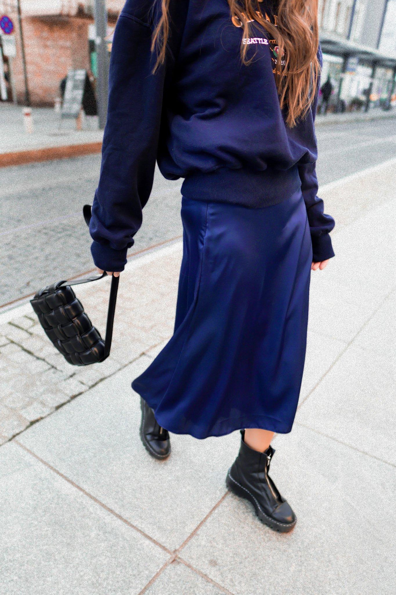 Chiara Wear Womans Skirt Fauna Navy Blue dámské Other XS