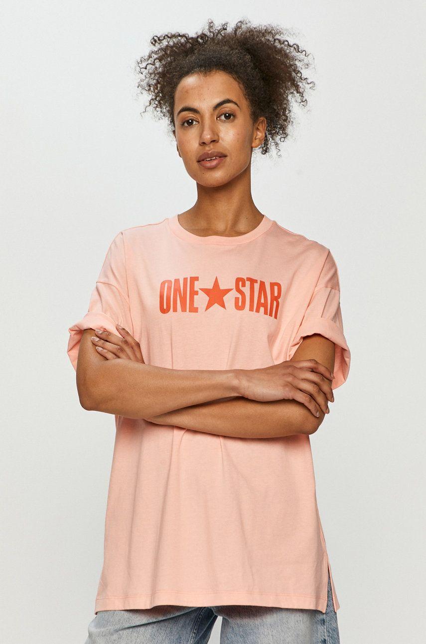 Converse - Tričko dámské ružová XS