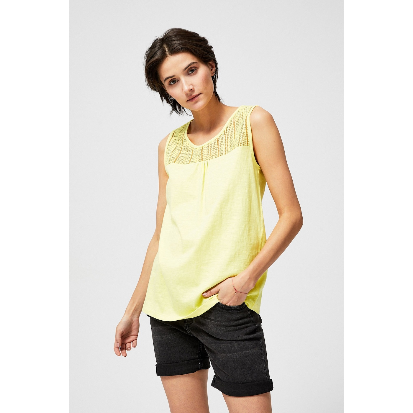 Cotton top - yellow dámské Other S