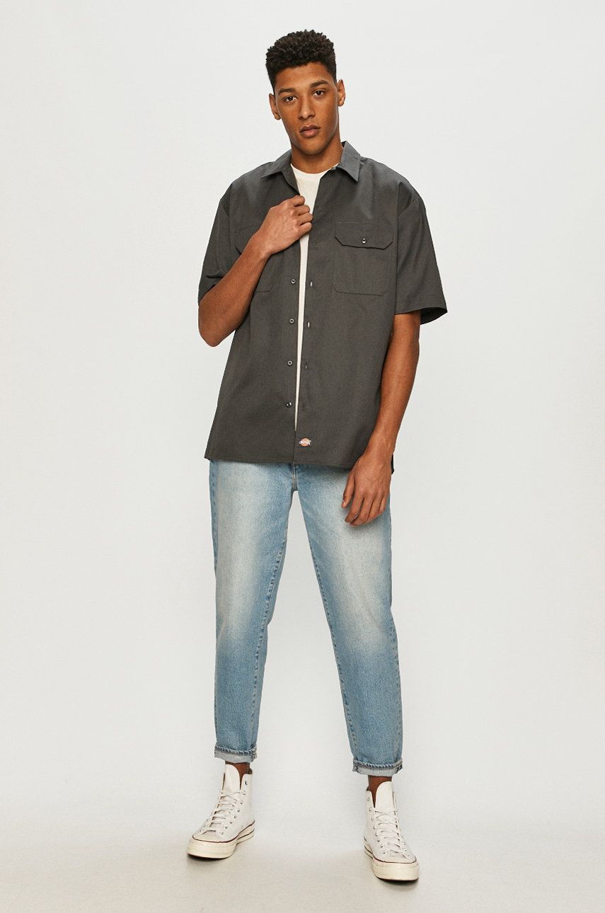Dickies - Košeľa pánské sivá M