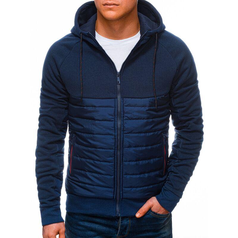 Edoti Mens mid-season jacket B1251 pánské Navy M