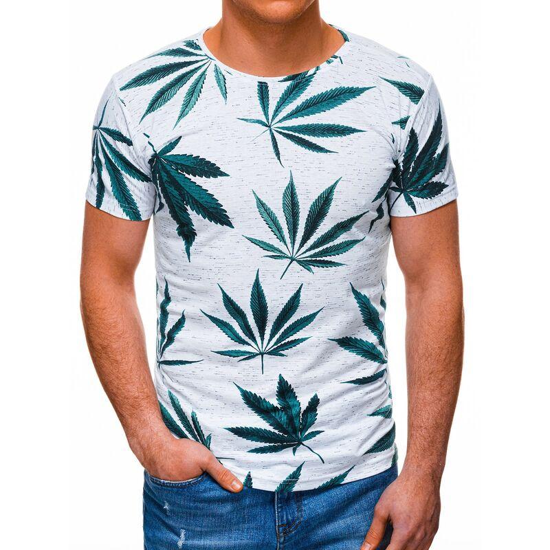 Edoti Mens t-shirt S1392 pánské White L
