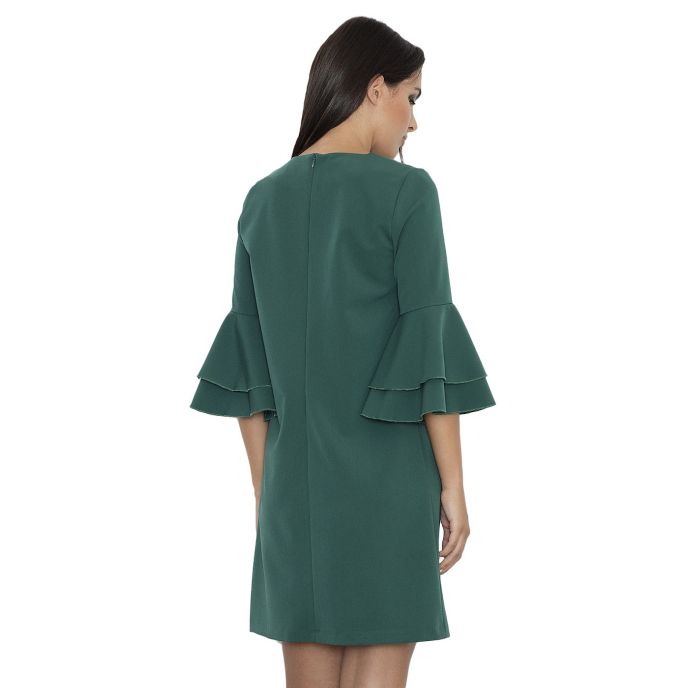 Figl Womans Dress M564 dámské Green XL