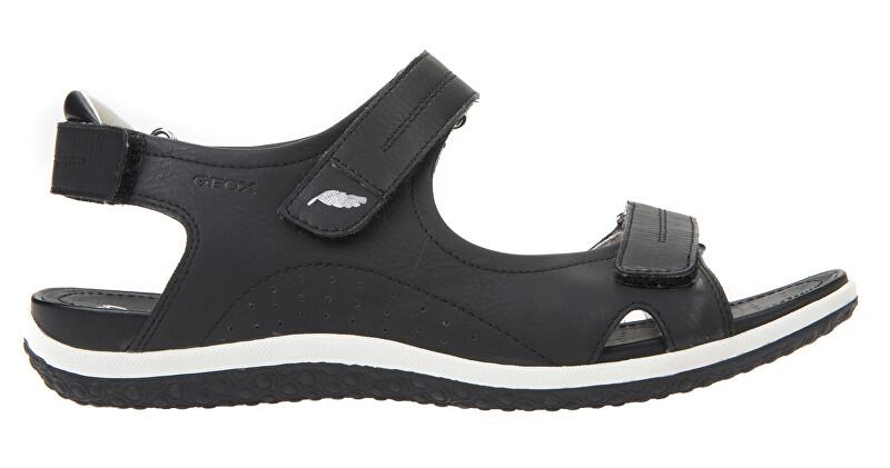 GEOX Dámske sandále D Sandal Vega Black D52R6A-000EK -C9997 38 dámské