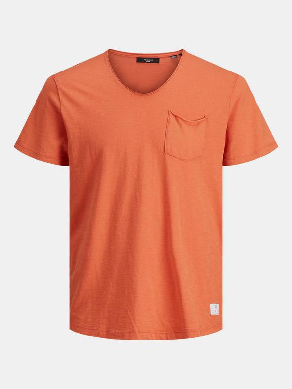 Jack & Jones Feel Tričko Oranžová pánské XL