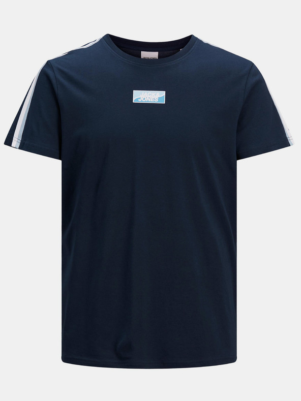 Jack & Jones Flow Tričko Modrá pánské S