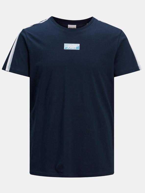 Jack & Jones Flow Tričko Modrá pánské XL