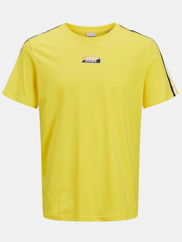 Jack & Jones Flow Tričko Žltá pánské S