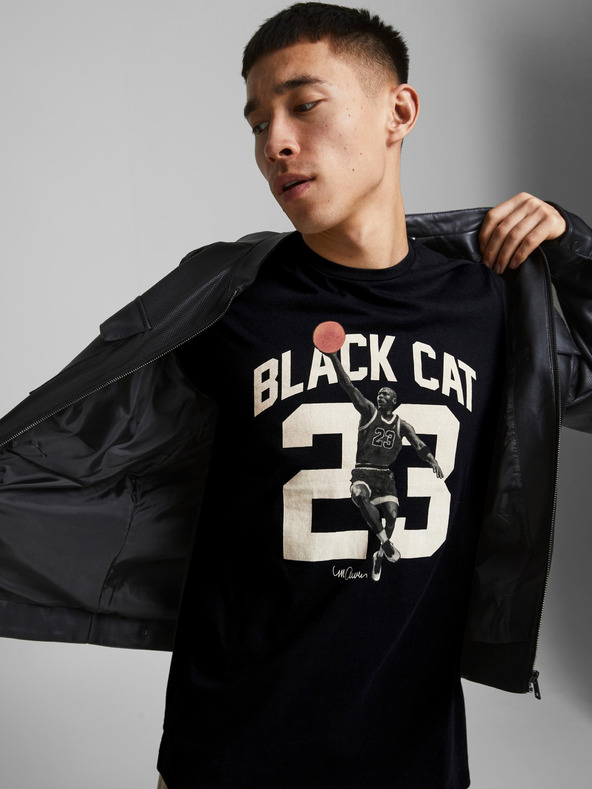 Jack & Jones Legends Tričko Čierna pánské M