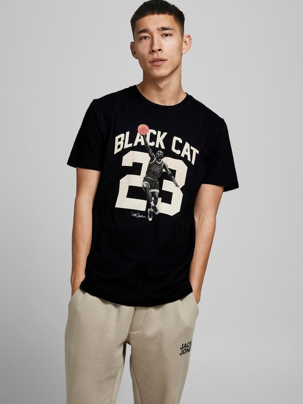 Jack & Jones Legends Tričko Čierna pánské S