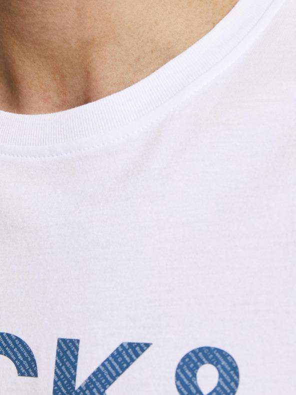 Jack & Jones Slices Tričko Biela pánské L