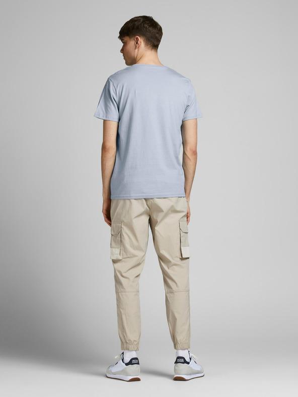 Jack & Jones Slices Tričko Modrá pánské XL