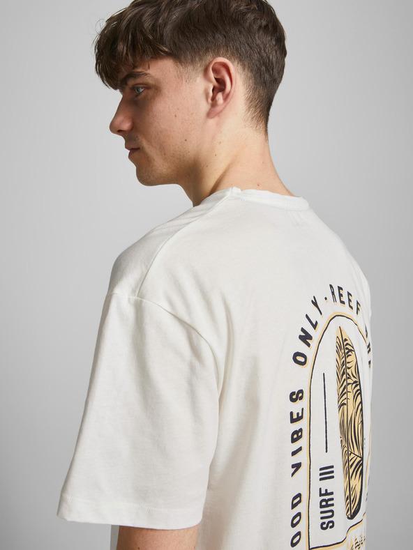 Jack & Jones Vibes Tričko Biela pánské M