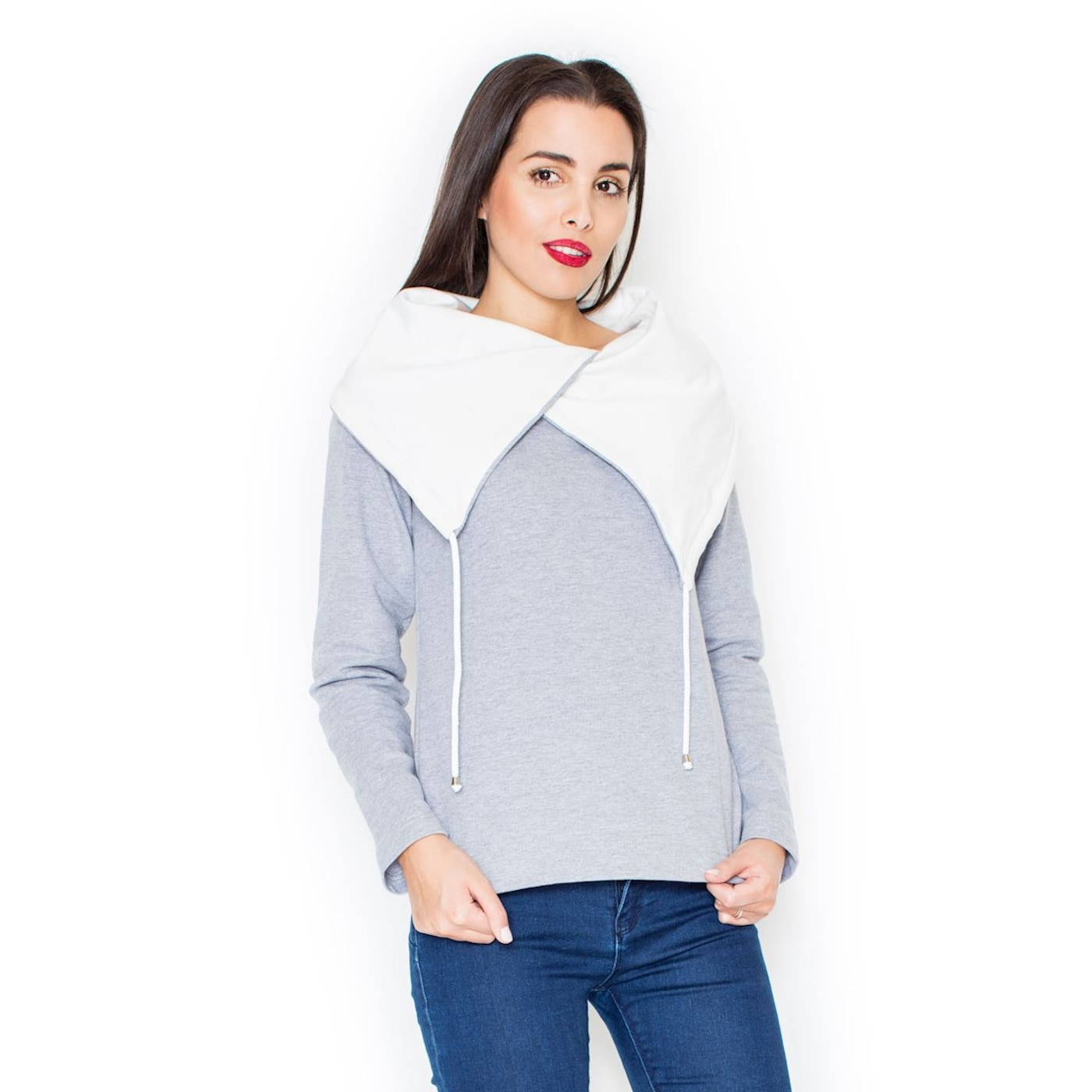 Katrus Womans Hoodie K140 dámské Grey L