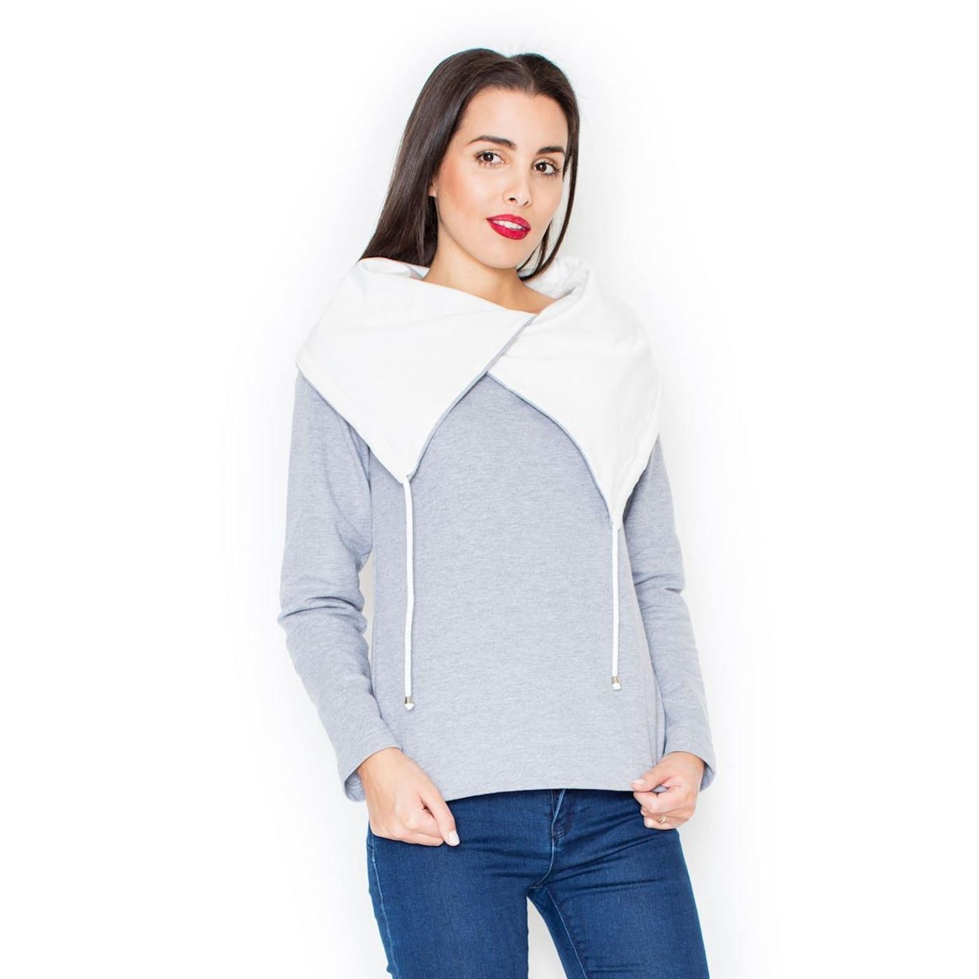 Katrus Womans Hoodie K140 dámské Grey XL
