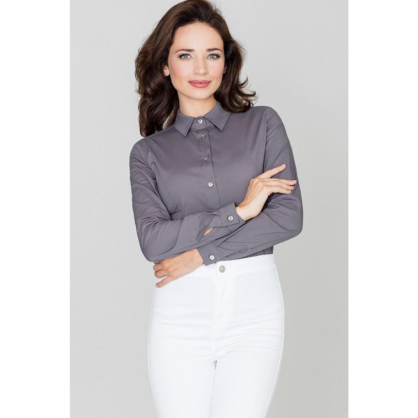 Katrus Womans Shirt K240 dámské Grey XL