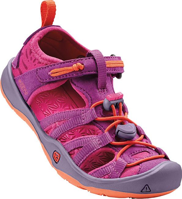 KEEN Detské sandále Moxie Sandal Purple Wine/Nasturtium KIDS 24