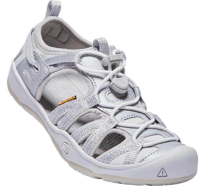 KEEN Detské sandále Moxie Sandal Silver JUNIOR 34