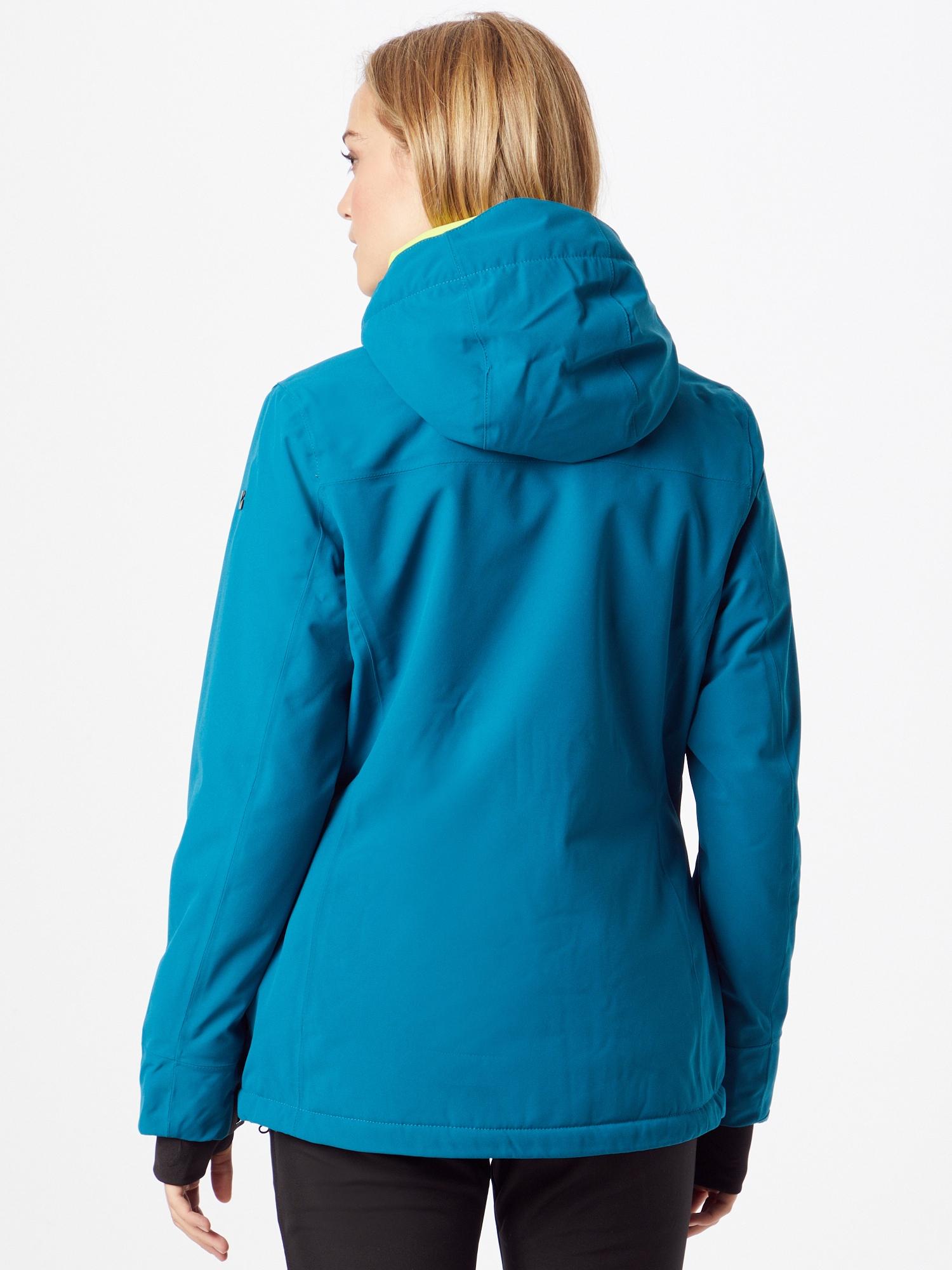 KILLTEC Outdoorová bunda  tyrkysová dámské M