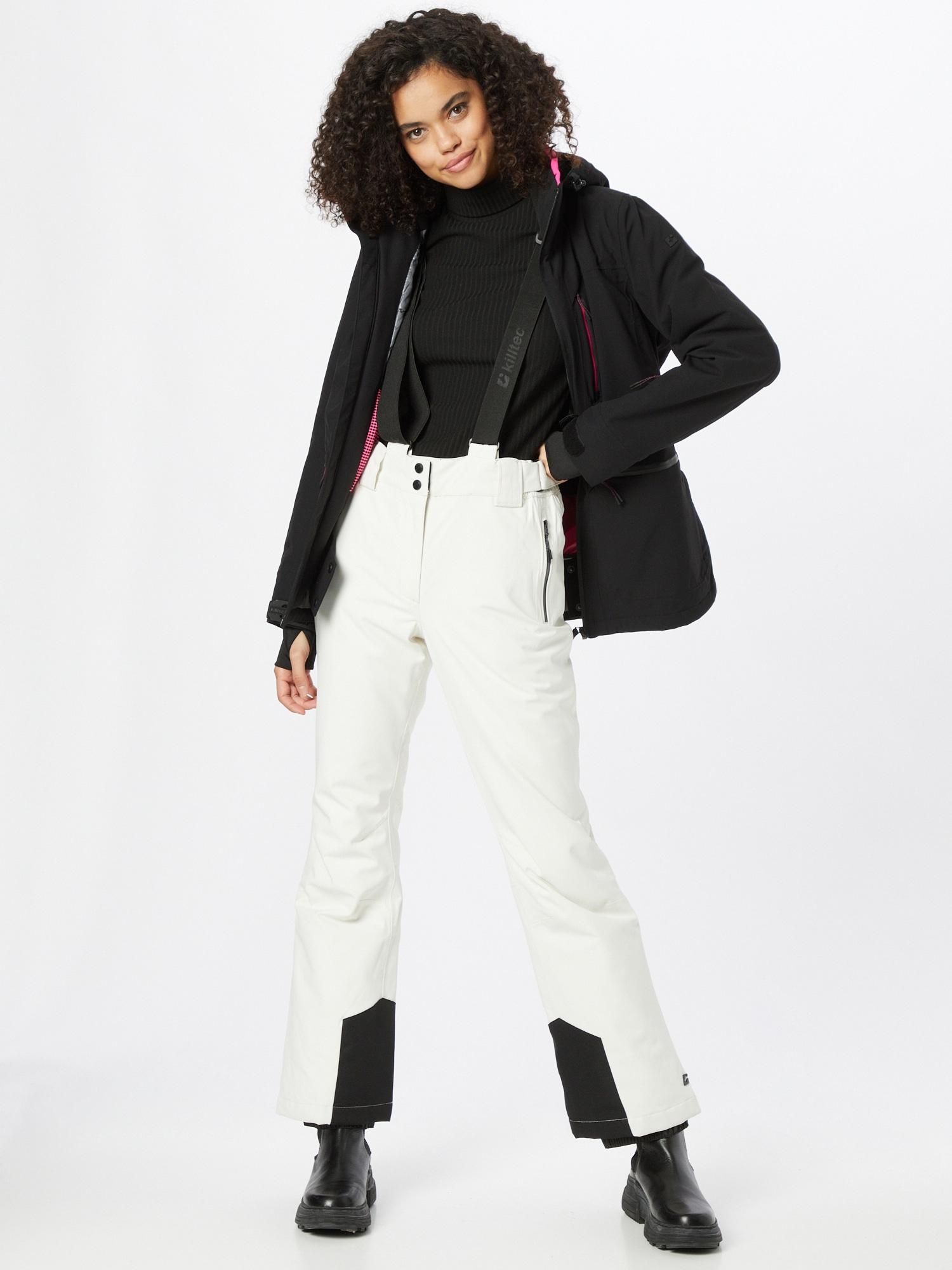 KILLTEC Outdoorové nohavice  biela dámské S-M