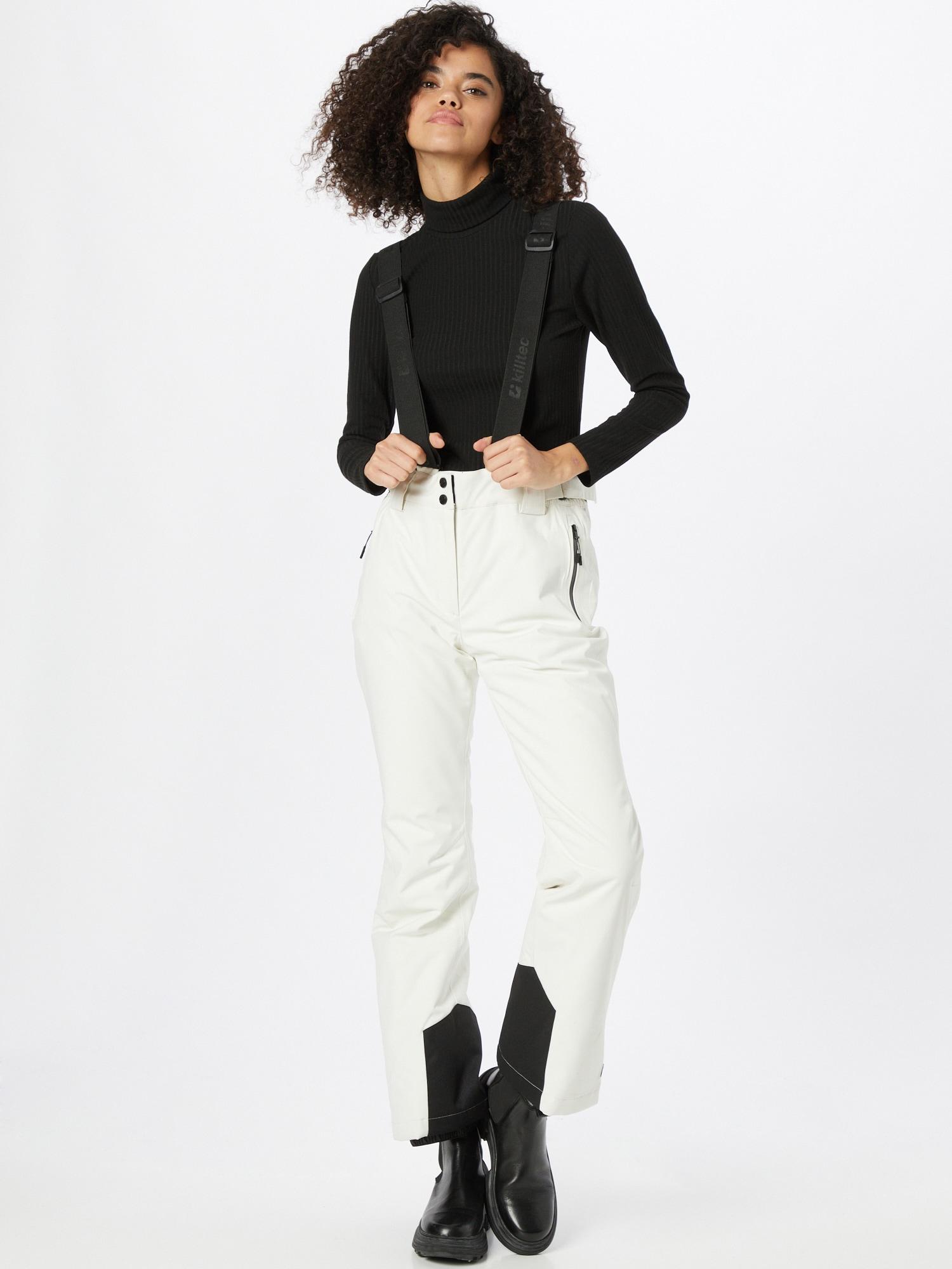 KILLTEC Outdoorové nohavice  biela dámské S