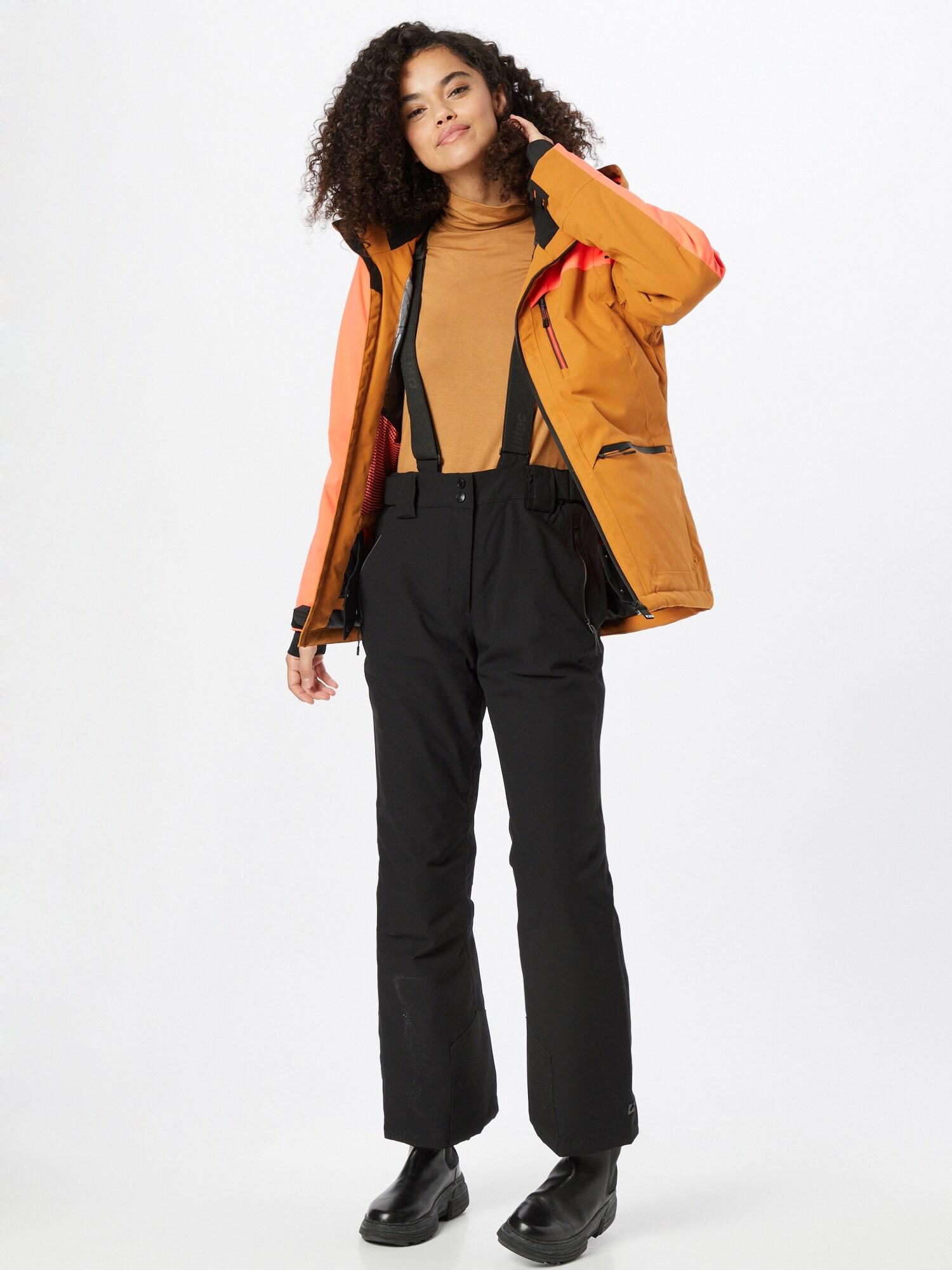 KILLTEC Outdoorové nohavice  čierna dámské S-M