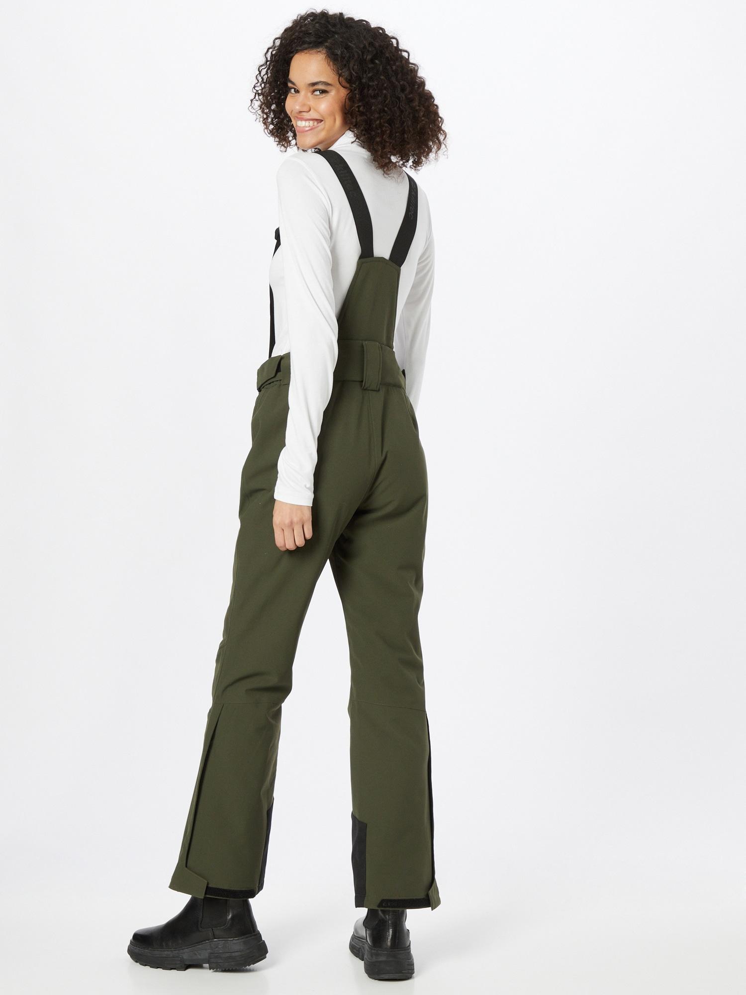 KILLTEC Outdoorové nohavice  olivová / čierna dámské S-M