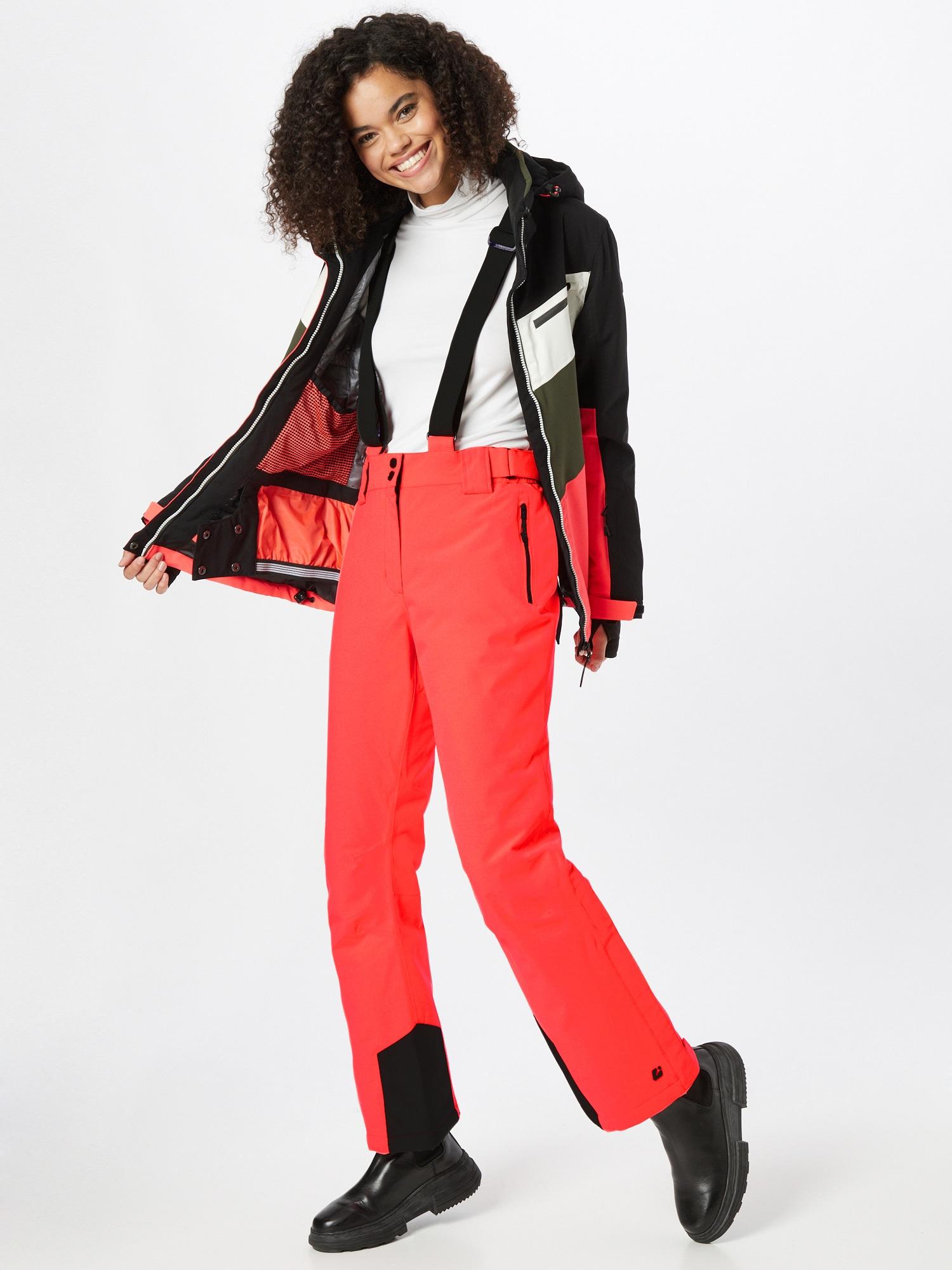 KILLTEC Outdoorové nohavice  ružová dámské M