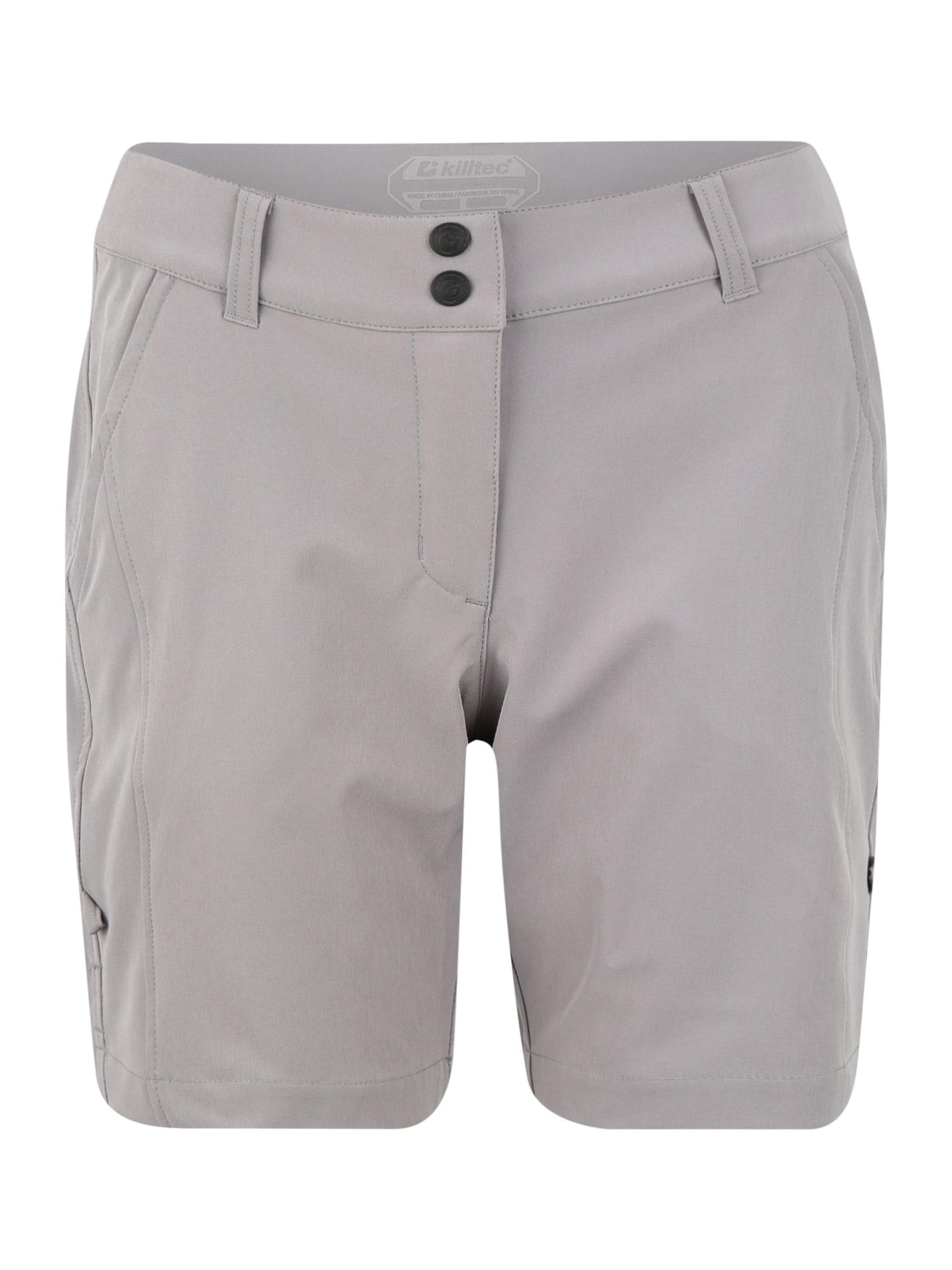 KILLTEC Športové nohavice Runja  sivá dámské XS