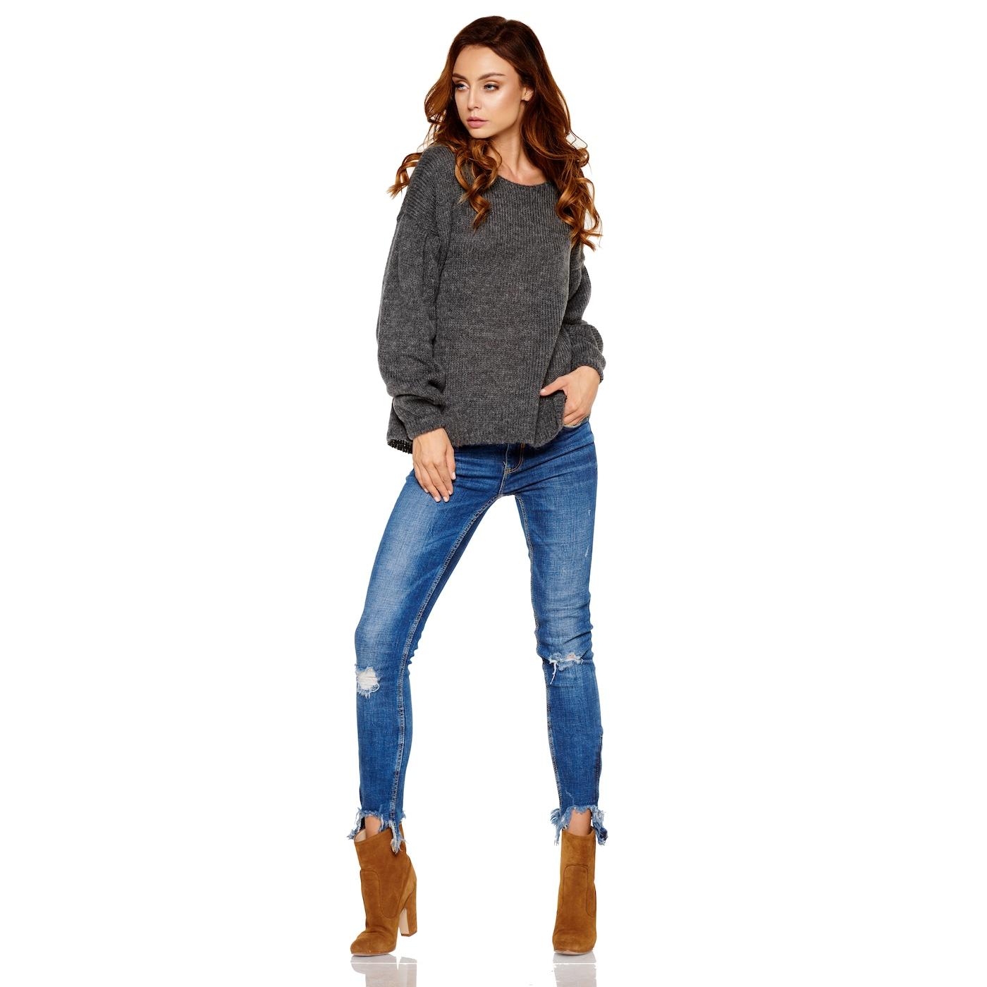 Lemoniade Womans Sweater LS216 Dark dámské Grey One size