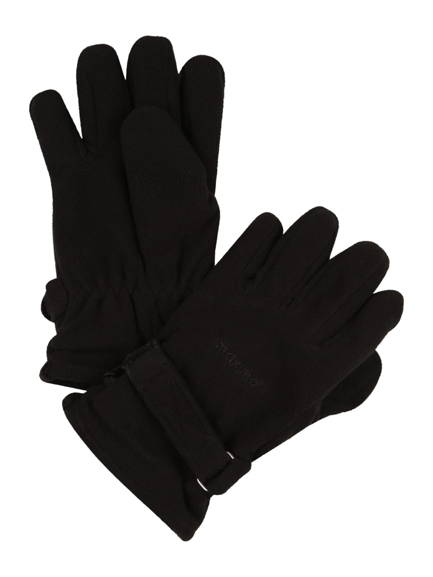 MAXIMO Rukavice  čierna pánské XL