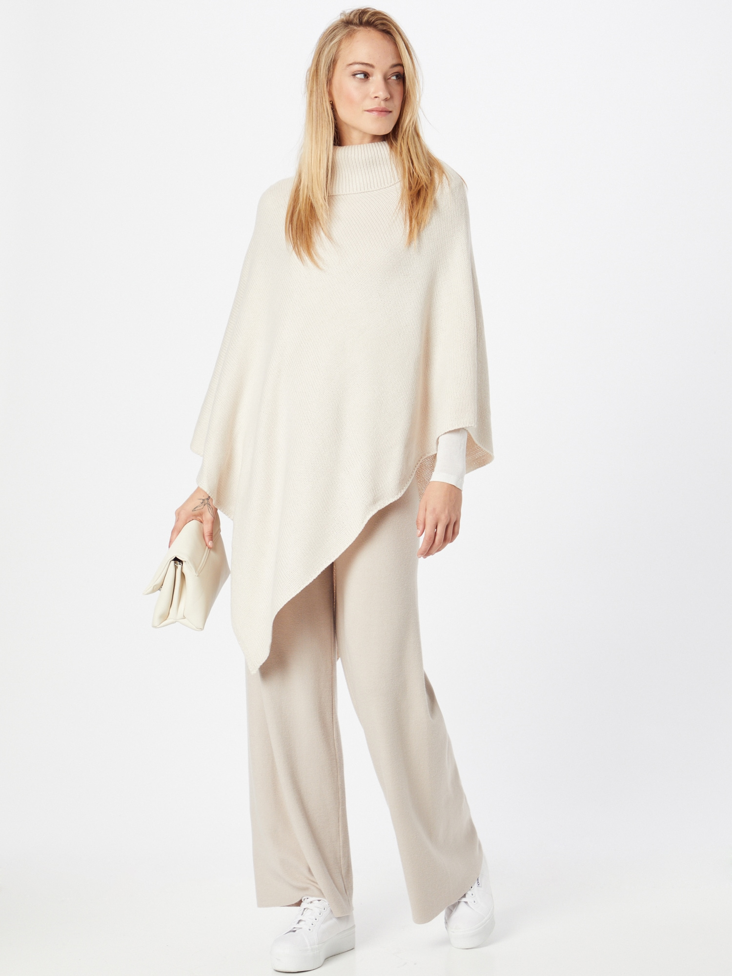 ONLY Pelerína NICOYA  krémová dámské XL