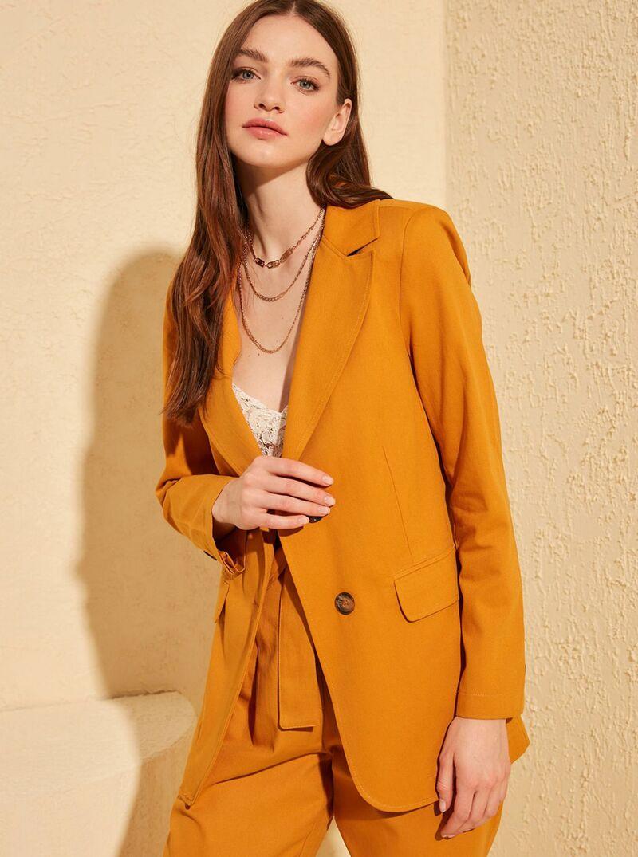 Oranžové sako Trendyol - XS dámské oranžová XS