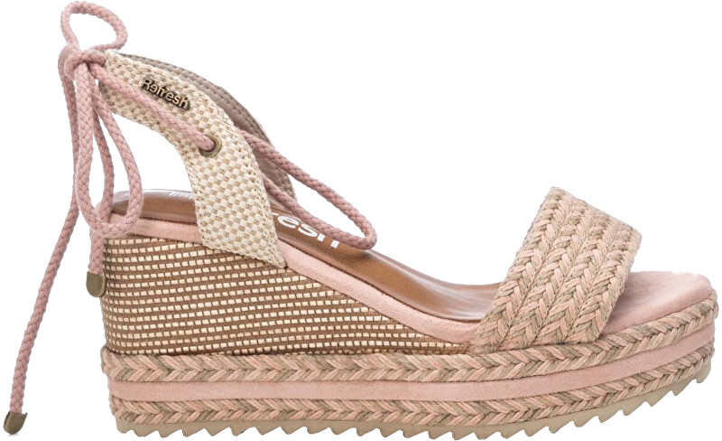 Refresh Dámske sandále Nude Textile Ladies Sandals 69682 Nude 37 dámské