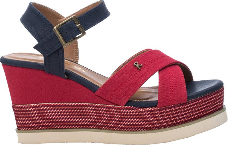 Refresh Dámske sandále Red Textile Ladies Sandals 69595 Red 39 dámské