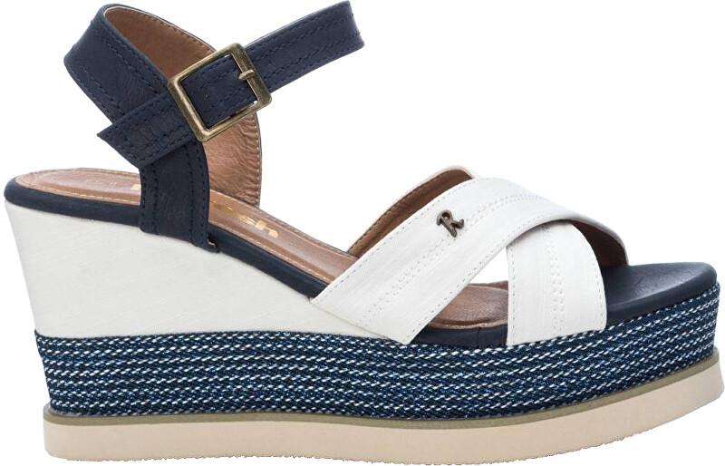 Refresh Dámske sandále White Textile Ladies Sandals 69595 White 37 dámské