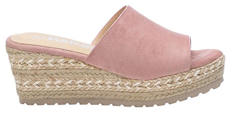 Refresh Dámske šľapky Nude Microfiber Ladies Sandals 72256 Nude 38 dámské