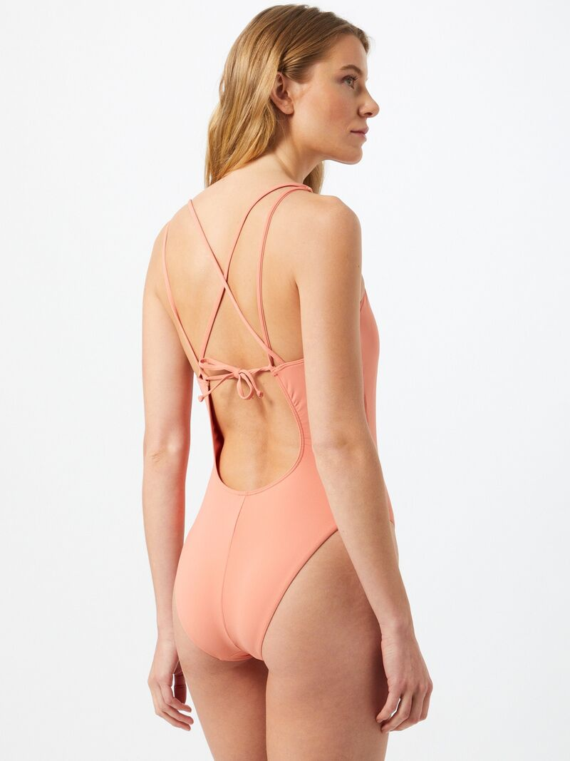 ROXY Športové jednodielne plavky  ružová dámské XS