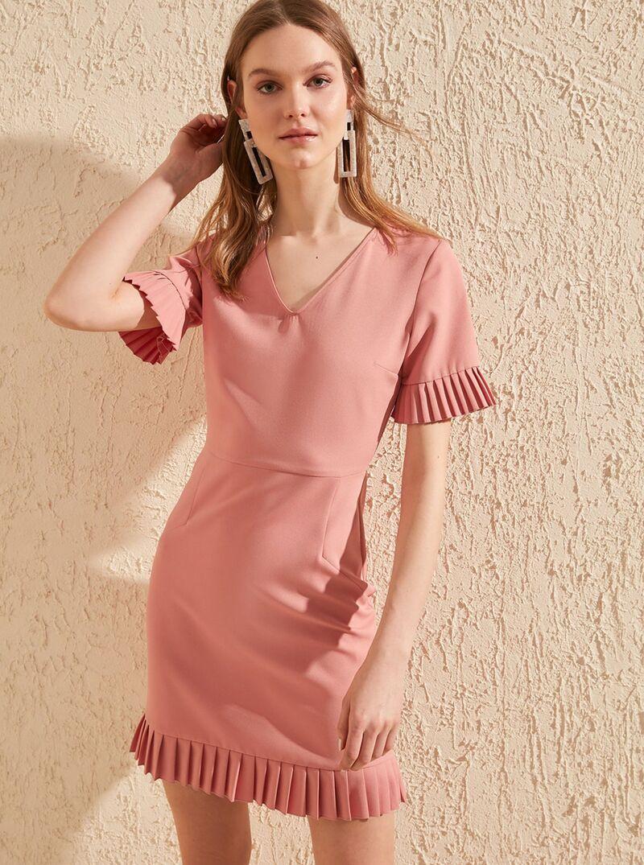 Ružové šaty Trendyol - L dámské ružová L